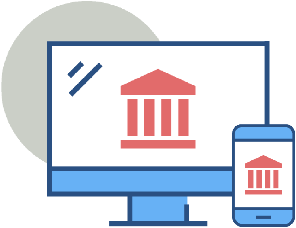 Online and Mobile Banking icon