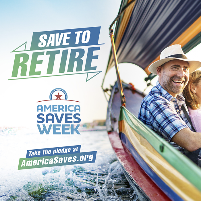 Save to retire graphic