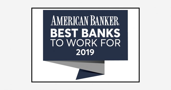 2019 Best Banks to Work For logo