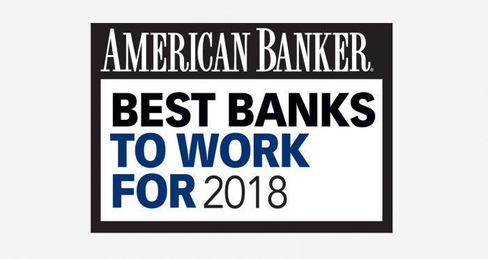 2018 Best Banks to Work For logo