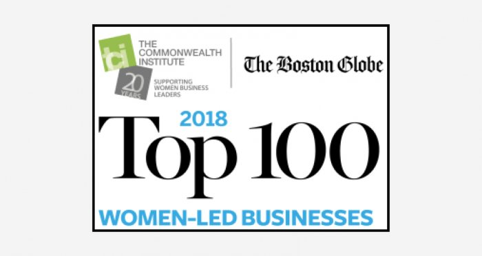 2018 Top 100 Women-Led Businesses logo