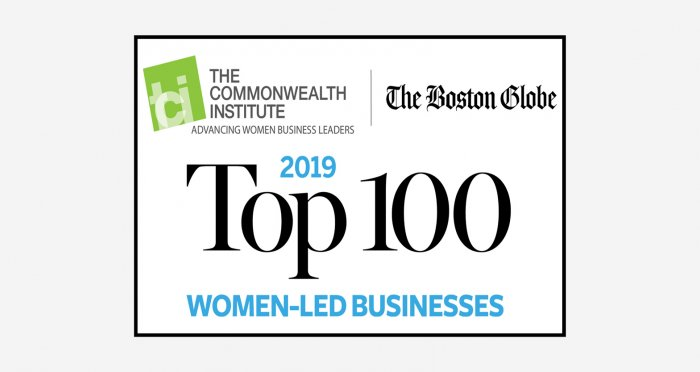 Top 100 Women-Led Businesses logo